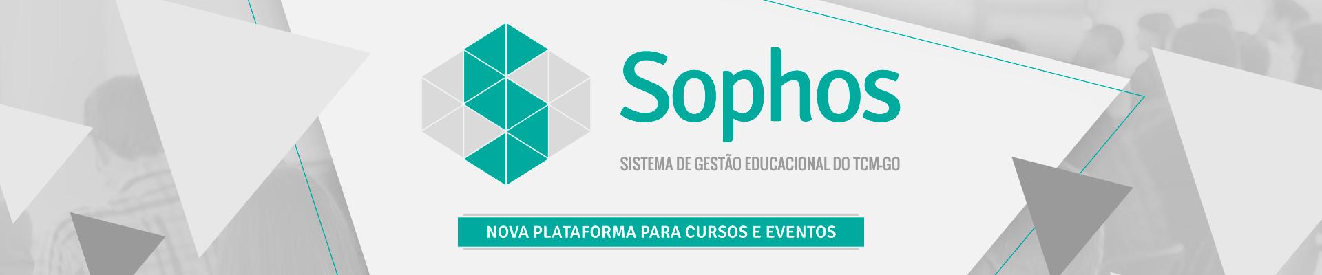 Sophos - Sistema de Gestão Educacional do Tribunal de Contas dos Municípios do Estado de Goiás